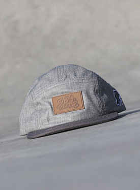 5-panel Denim/Grey TS