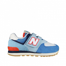 574 Light blue/Orange PS