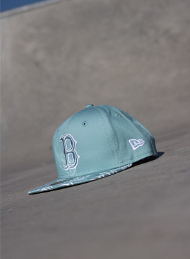 9fifty Boston Red Sox Palm/Blue Youth