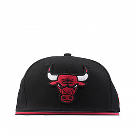 9fifty chicago bulls black
