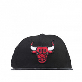 9fifty chicago bulls black/camo Youth