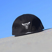 9fifty Chicago Bulls black/reflector Infant
