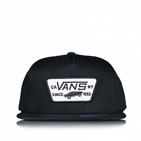9fifty child vans black/white