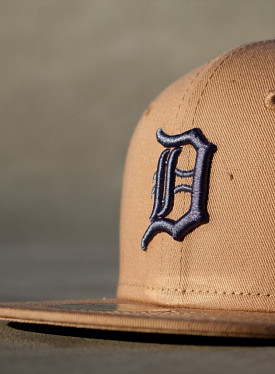 9FIFTY Detroit Tigers Khaki/Blue Youth