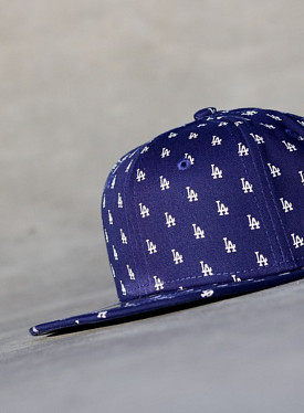 9FIFTY LA Dodgers Logo's Kobalt Youth