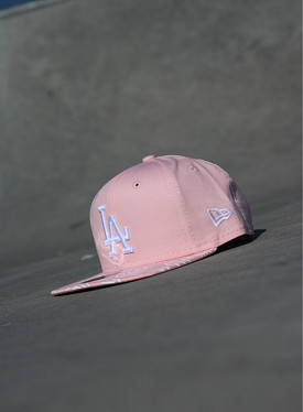 9fifty LA Dodgers Palm/Pink Child