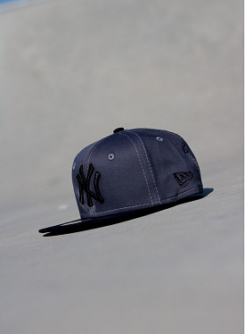 9fifty NY Yankees Grey/Black Youth