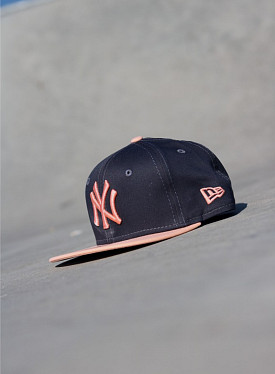 9fifty NY Yankees Grey/Peach Youth