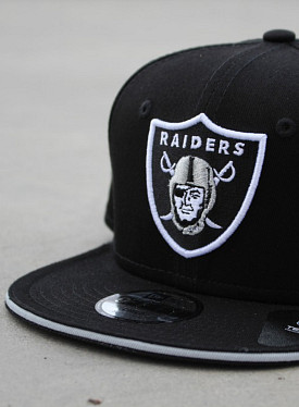 9FIFTY Raiders Black/Silver Child
