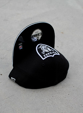 9FIFTY Raiders Black/Silver Youth