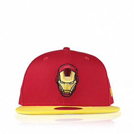 9fifty red/yellow ironman child