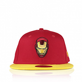 9fifty red/yellow ironman youth