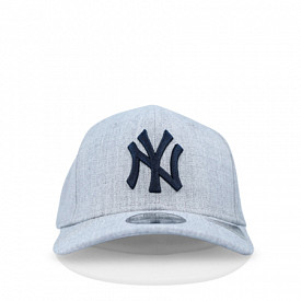 9fifty youth ny yankees heathe