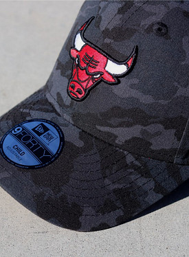 9forty chicago bulls camo TS