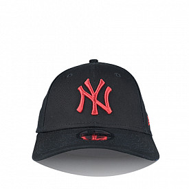9forty youth ny black/red