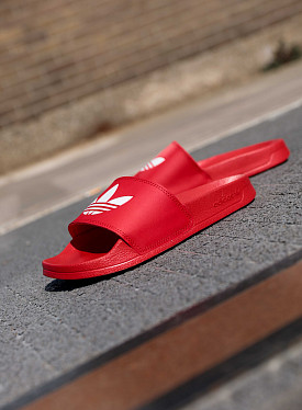 Adilette Originals Logo Red GS