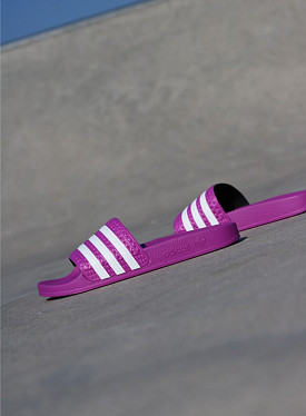 Adilette Pink/White GS