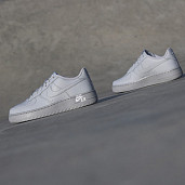 Air force 1 Leather Wolf Grey GS