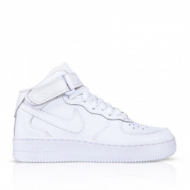 Air Force 1 Mid 06 White GS