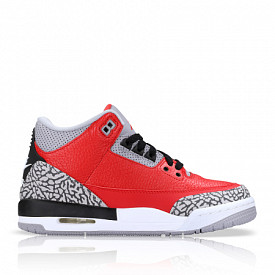 Air Jordan 3 Retro Fire Red/Cement GS
