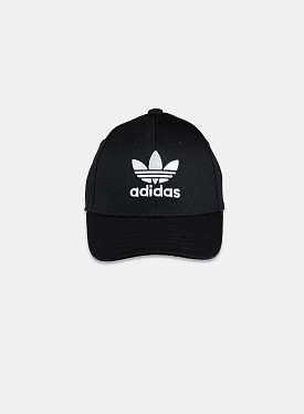 Baseball Cap Black White Youth