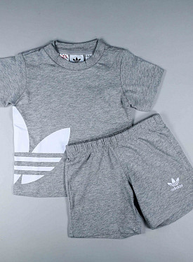 Big trefoil Set Grey/White PS