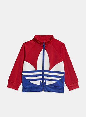 Big Trefoil Track Suit Scarlet Royal Blue TD