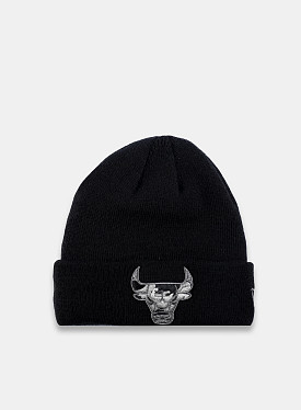 Chicago Bulls Essential Beanie Black Reflective Child