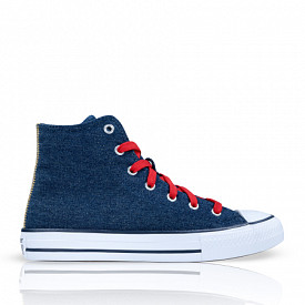 Chuck Taylor All Star Denim/Red GS