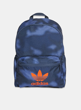 Classic Backpack Crew Blue Crew Navy App Solar Red