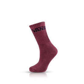 Classic Crew Socks 3-Pack Burgundy/Rust/Blue