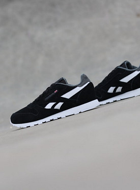Classic Leather Black/Suede GS