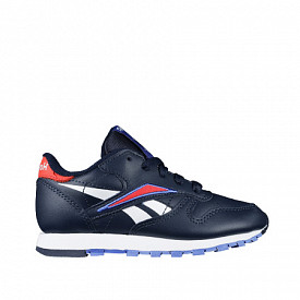 Classic Leather Navy/Red PS