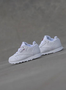 Classic Leather White/White TS