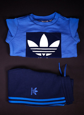 Crew Set Blue/Navy TS