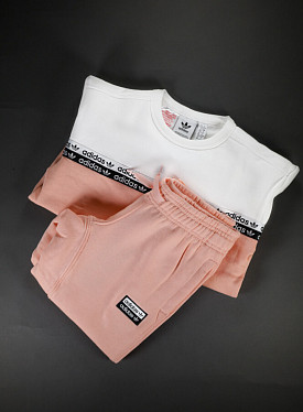 Crew suit Glopink/White PS