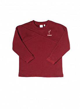Crewneck sweater bordeaux