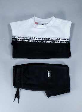 Crewset Black/White TS