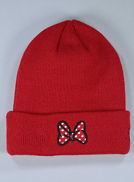 Cuff Minnie Mouse Red/Bow Child