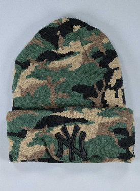 Cuff NY Yankees Camo Child