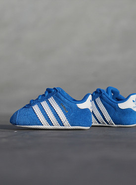 Gazelle Blue/White Crib
