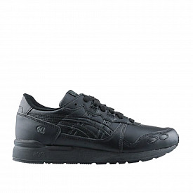 Gel-lyte Black/Black Leather Kids