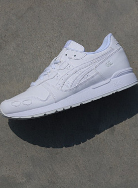 Gel-lyte White/White Leather GS