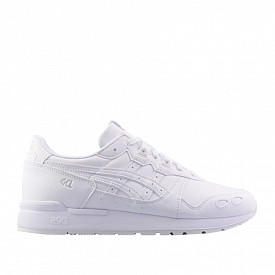 Gel-lyte White/White Leather Kids