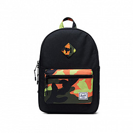 Heritage youth black/neoncamo