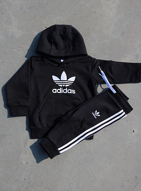 Hoody Set black/white TS