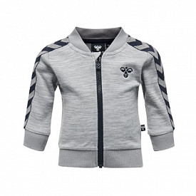 Hummel zip jacket Grey/Blue TS