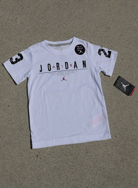 Jordan jumpman 23 White/Black PS