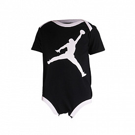 Jordan rompers jumpman black