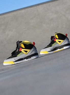 Jordan spizike black/yellow GS
